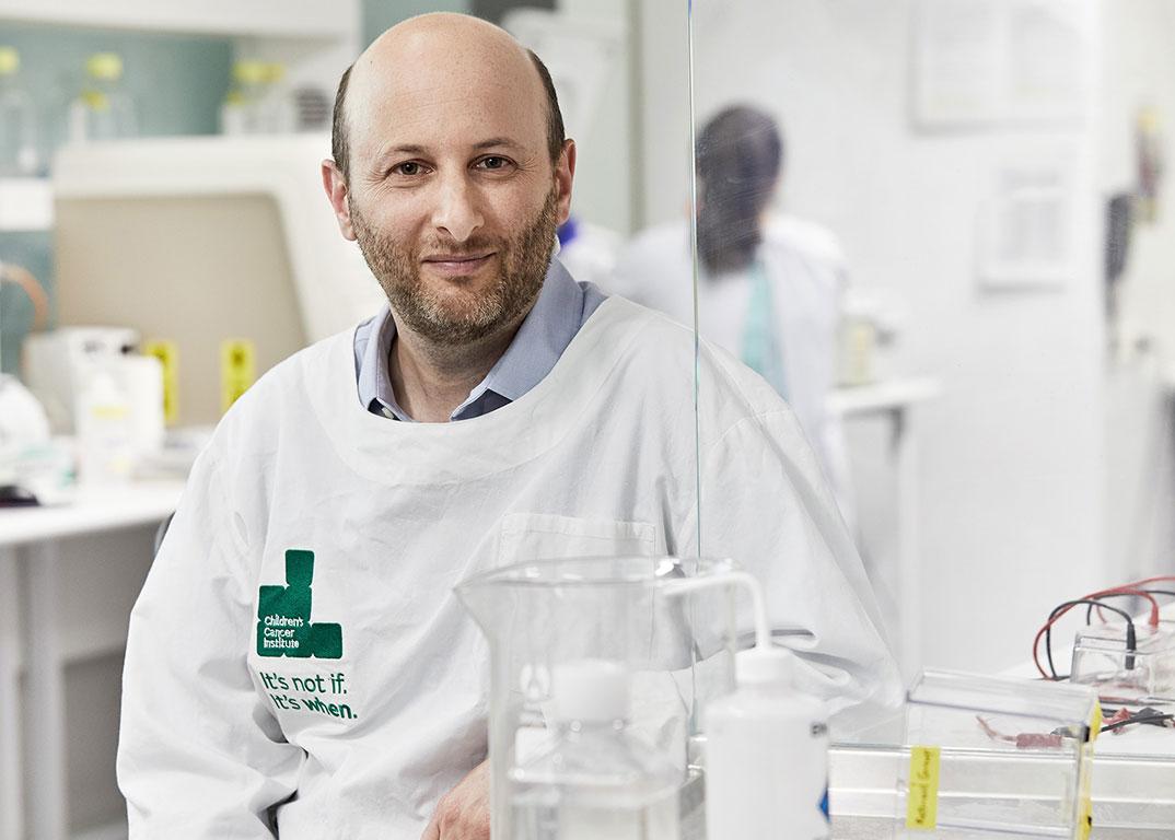 Associate Professor David Ziegler leads out DIPG research