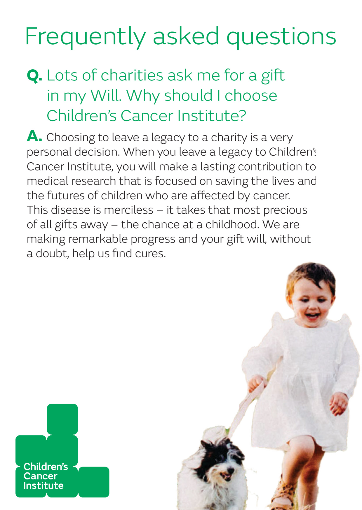 Q&A: your Gift in Will questions answered