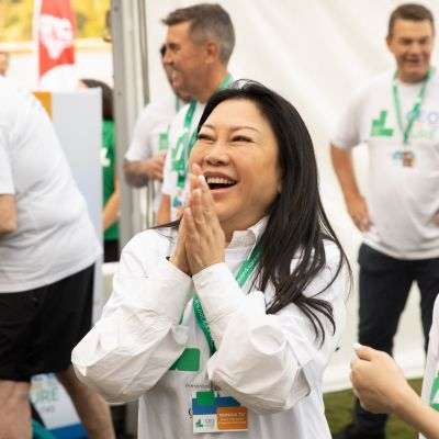 CEO Dare To Cure participants