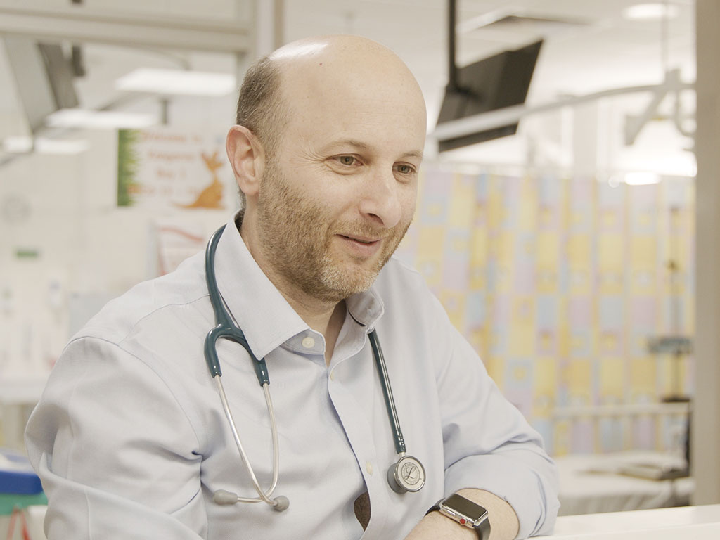 Associate Professor David Ziegler will lead the clinical trial