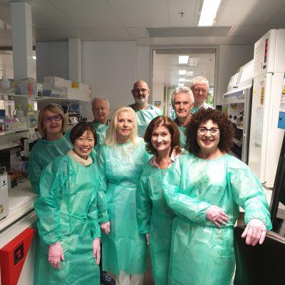 ladies committee in lab