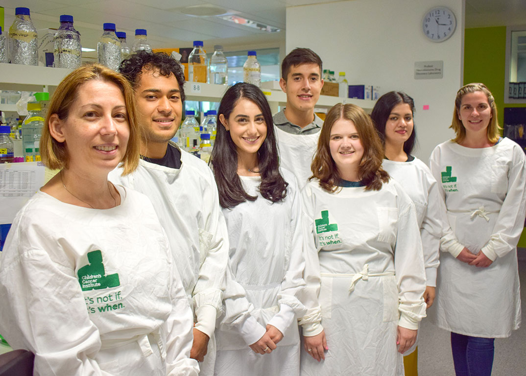 Our brain tumours team has been testing hundreds of drugs against DIPG samples