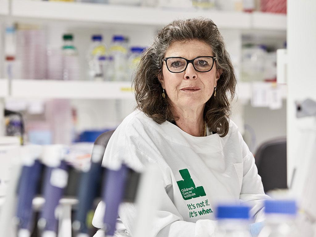 Professor Michelle Haber has dedicated decades into finding new treatments for neuroblastoma.